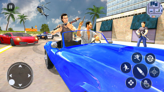 اسکرین شات بازی Grand Gangsters Crime 2021: City Gangster Games 1