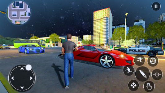 اسکرین شات بازی Grand Gangsters Crime 2021: City Gangster Games 3