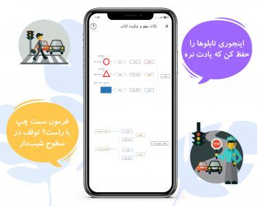 اسکرین شات برنامه آزمون آییننامه رانندگی 1400 قبولی 100 درصد 8