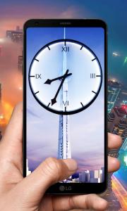 اسکرین شات برنامه Dubai Clock Wallpapers - Analog Clock Backgrounds 3