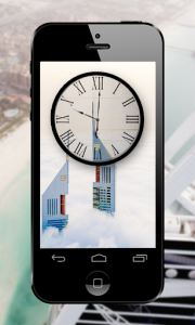 اسکرین شات برنامه Dubai Clock Wallpapers - Analog Clock Backgrounds 4