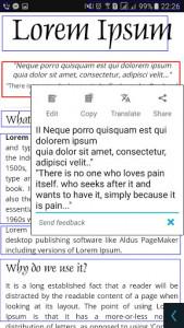 اسکرین شات برنامه Smart Lens - Text Scanner (OCR) 1