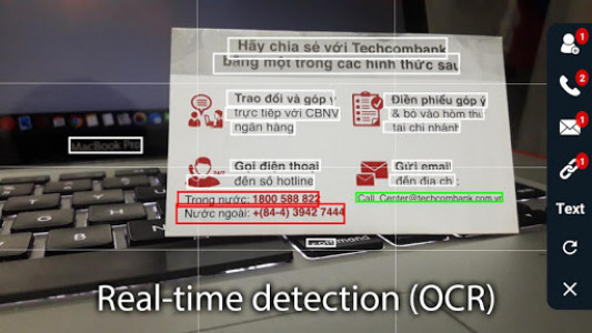 اسکرین شات برنامه Smart Lens - Text Scanner (OCR) 8