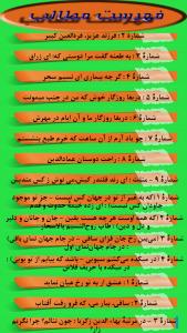 اسکرین شات برنامه دیوان فخرالدین عراقی 6