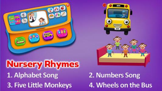اسکرین شات بازی Baby Phone Game for Kids Free 7