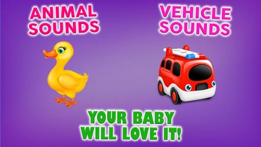 اسکرین شات بازی Baby Phone Game for Kids Free 4