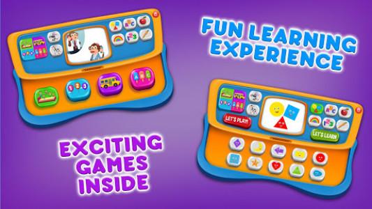 اسکرین شات بازی Baby Phone Game for Kids Free 8