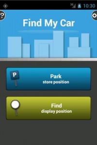 اسکرین شات برنامه Find My Car 1
