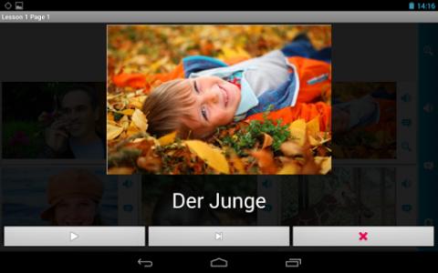 اسکرین شات برنامه German in a Month: Free listening language course 8