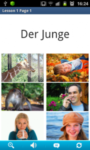 اسکرین شات برنامه German in a Month: Free listening language course 2