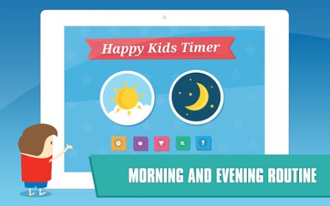 اسکرین شات برنامه Happy Kids Timer – Morning & Evening Chores 8