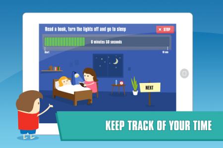 اسکرین شات برنامه Happy Kids Timer – Morning & Evening Chores 4