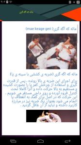 اسکرین شات برنامه آموزش کامل کاراته ویژه 4