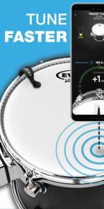 اسکرین شات برنامه Drum Tuner | Drumtune PRO > Drum tuning made easy! 3