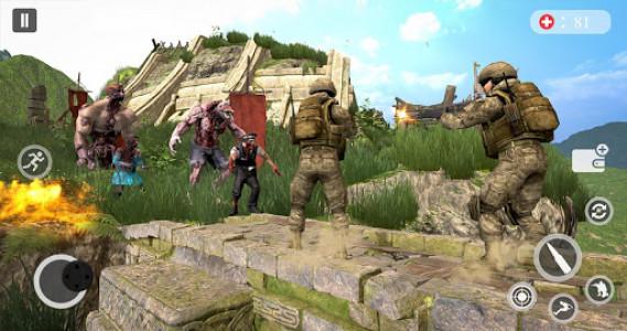 اسکرین شات بازی Zombie Hunting Games 2019 - Best Free Zombie Games 8