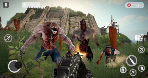اسکرین شات بازی Zombie Hunting Games 2019 - Best Free Zombie Games 4