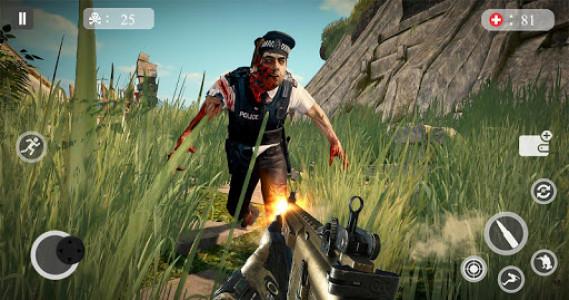 اسکرین شات بازی Zombie Hunting Games 2019 - Best Free Zombie Games 5