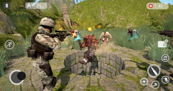 اسکرین شات بازی Zombie Hunting Games 2019 - Best Free Zombie Games 7