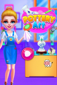 اسکرین شات بازی Pottery Art 1