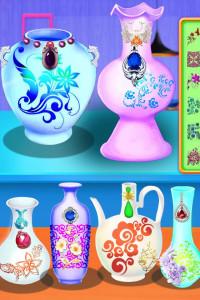 اسکرین شات بازی Pottery Art 3