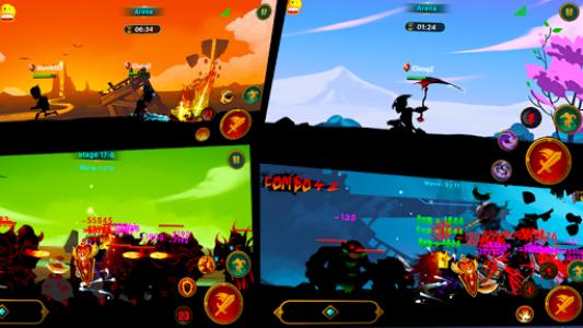 اسکرین شات بازی Demon Warrior Premium - Stickman Shadow Action RPG 4