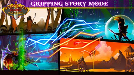 اسکرین شات بازی Demon Warrior Premium - Stickman Shadow Action RPG 5
