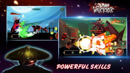 اسکرین شات بازی Demon Warrior: Stickman Shadow - Fight Action RPG 5