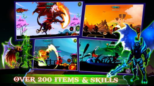 اسکرین شات بازی Demon Warrior: Stickman Shadow - Fight Action RPG 1