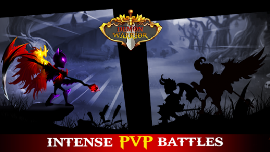 اسکرین شات بازی Demon Warrior: Stickman Shadow - Fight Action RPG 8