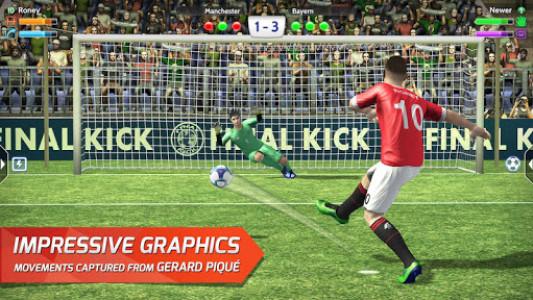 اسکرین شات بازی Final kick 2020 Best Online football penalty game 1