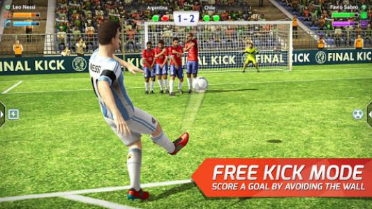اسکرین شات بازی Final kick 2020 Best Online football penalty game 2