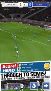 اسکور هیرو - فوتبال score hero ورزشگاه و بازیکنان