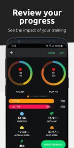 اسکرین شات برنامه FITIV Pulse: Heart Rate Monitor + Workout Tracker 4