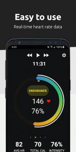 اسکرین شات برنامه FITIV Pulse: Heart Rate Monitor + Workout Tracker 3