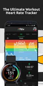 اسکرین شات برنامه FITIV Pulse: Heart Rate Monitor + Workout Tracker 1