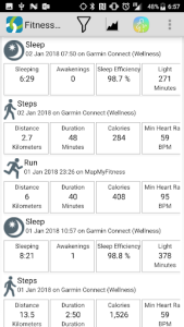 اسکرین شات برنامه FitnessSyncer 4