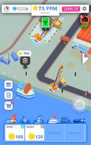 اسکرین شات بازی Idle Port Tycoon - Sea port empire 5