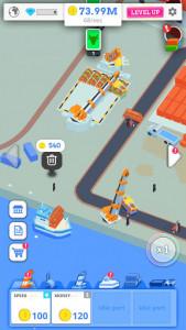 اسکرین شات بازی Idle Port Tycoon - Sea port empire 1