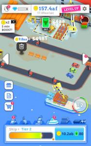 اسکرین شات بازی Idle Port Tycoon - Sea port empire 6