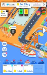 اسکرین شات بازی Idle Port Tycoon - Sea port empire 7