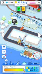 اسکرین شات بازی Idle Port Tycoon - Sea port empire 4