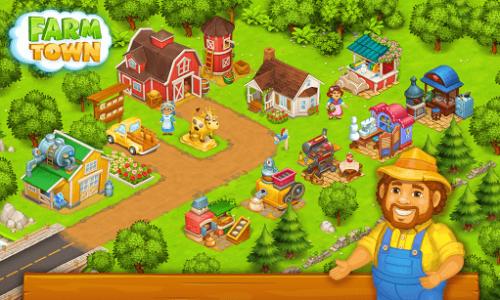 اسکرین شات بازی شهر کشاورزی: داستان های شاد شهر 22