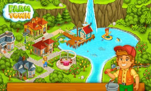 اسکرین شات بازی شهر کشاورزی: داستان های شاد شهر 15
