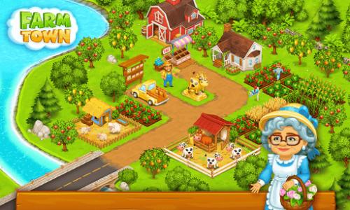 اسکرین شات بازی شهر کشاورزی: داستان های شاد شهر 21