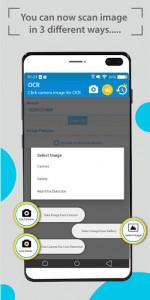 اسکرین شات برنامه OCR Text Scanner - Image to Text : OCR 2