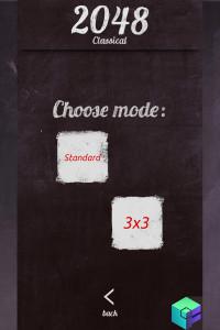 اسکرین شات بازی 2048 classical 3