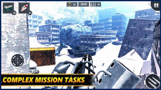 اسکرین شات بازی Gunner WinterLand War Guns Simulator : War weapons 1