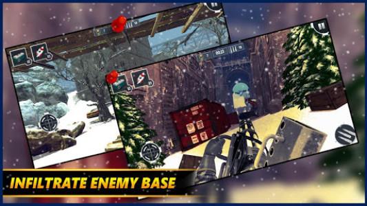 اسکرین شات بازی Gunner WinterLand War Guns Simulator : War weapons 8