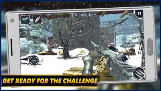 اسکرین شات بازی Gunner WinterLand War Guns Simulator : War weapons 7