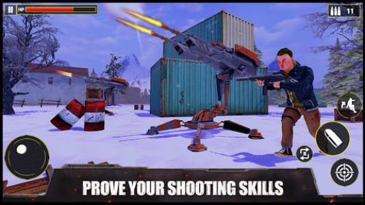 اسکرین شات بازی Fire Battleground: Free Squad Survival Games 2021 4
